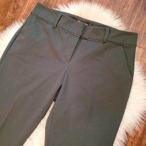 New York & Company Pants - 7th Ave New York & Company Green Stretch Pants